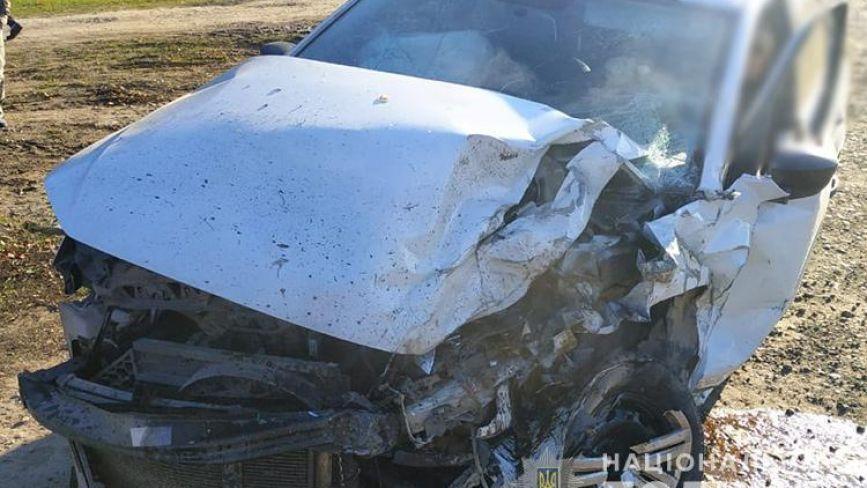 Аварія на Теребовлянщині: один з водіїв отримав травми (ФОТО)