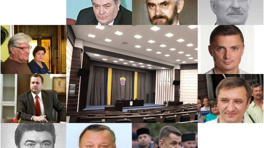 """Бійки, судові справи за """"п'яну їзду"""" та чималі статки: чим відзначилися усі голови Тернопільської облради"""