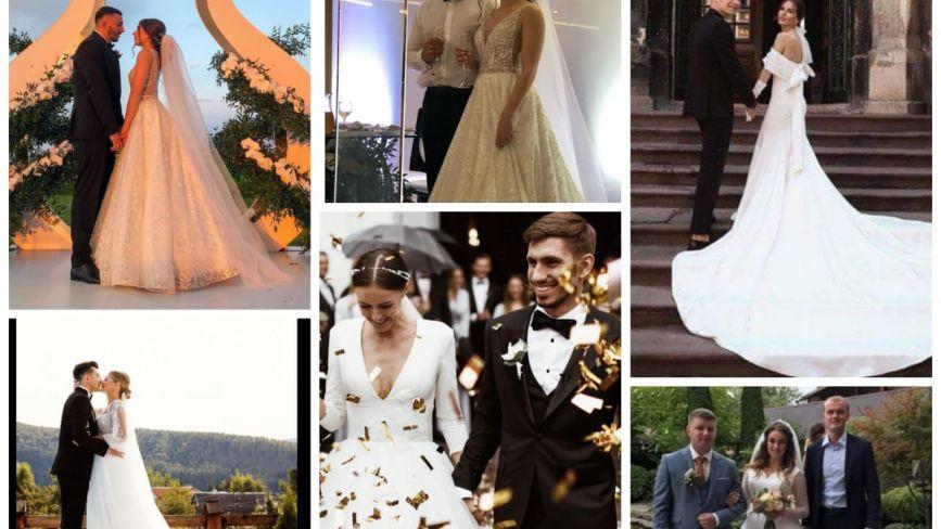 ТОП-7 весільних образів відомих тернополянок. Яка сукня вам до вподоби?