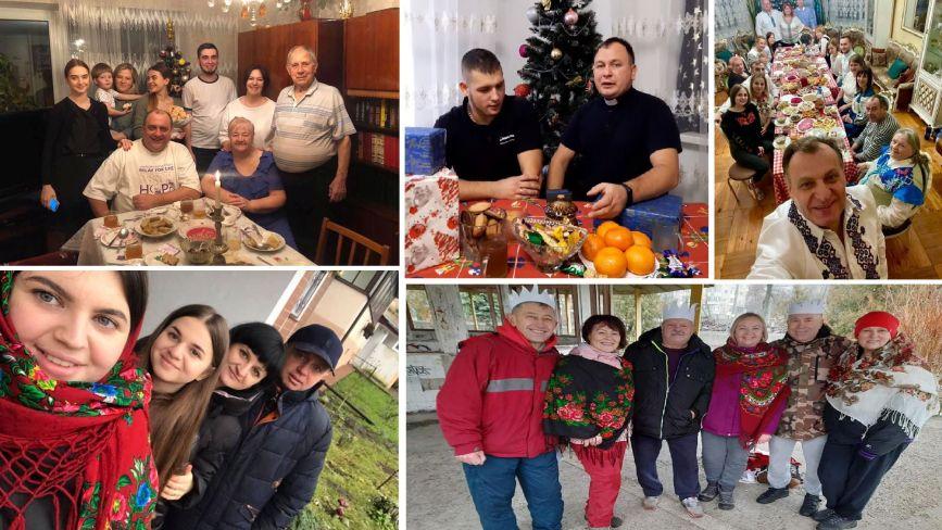 Колядки та щирі бажання: тернополяни вітають з Різдвом Христовим