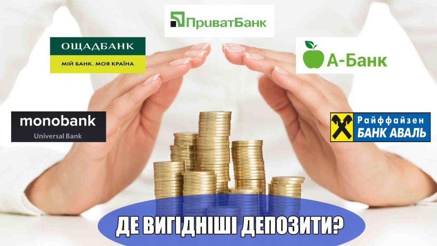У гривні, доларі чи євро? У якій валюті та де вигідніше відкривати депозит (ГРАФІКА)