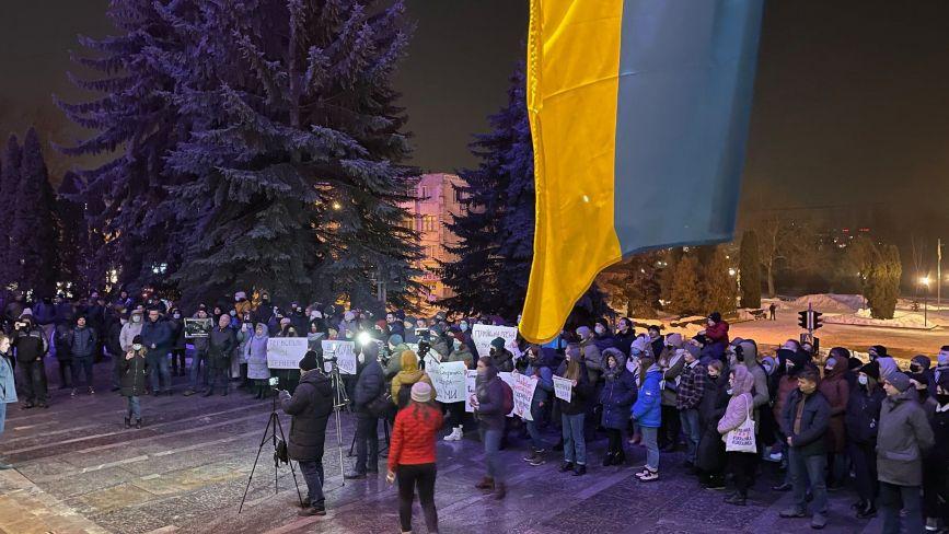 Сьогодні Стерненко, завтра можеш бути ти! Тернополяни вийшли на акцію протесту, щоб захистити активіста