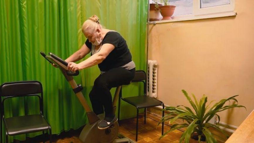 У Тернополі працює тренажерний зал для людей літнього віку