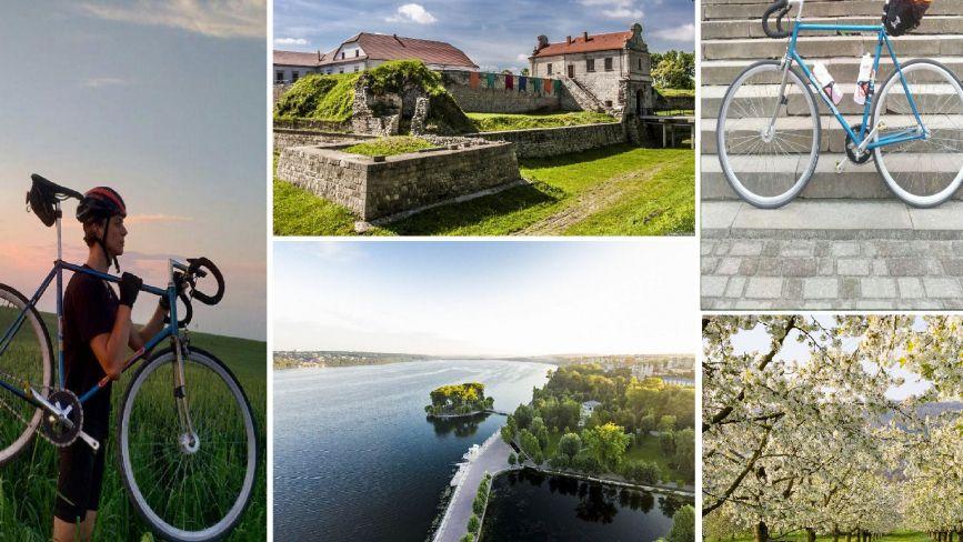 Куди можна поїхати на велосипеді на Тернопільщині. Маршрути для новачків та професіоналів (КАРТИ)