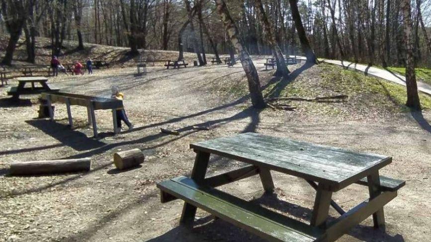 У парку «Здоров'я» відновили зону барбекю (ФОТО)
