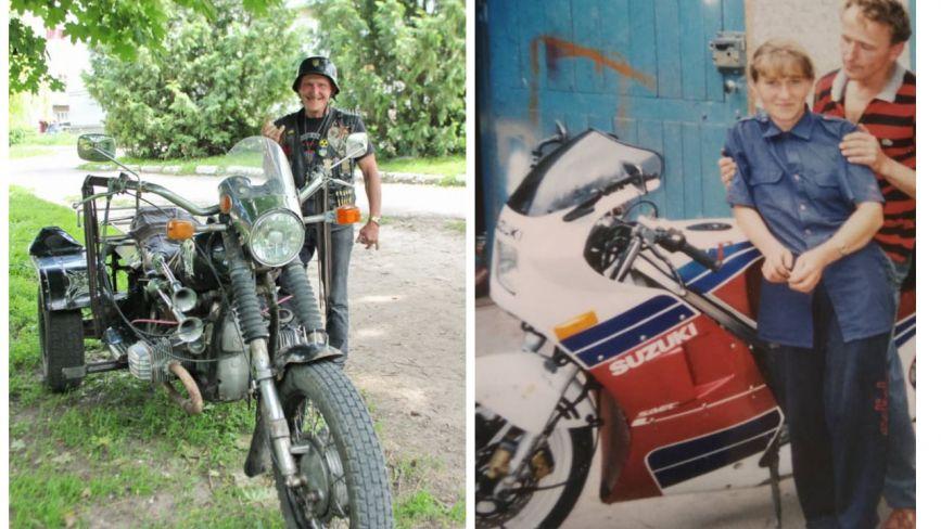 Як дідусь-байкер без ноги ганяє на двоколісному: неймовірна історія чоловіка з Шумщини