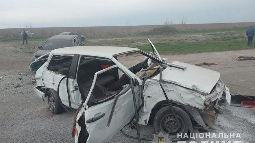 У поліції назвали обставини аварії біля Смиківців, де зіткнулися чотири автомобілі