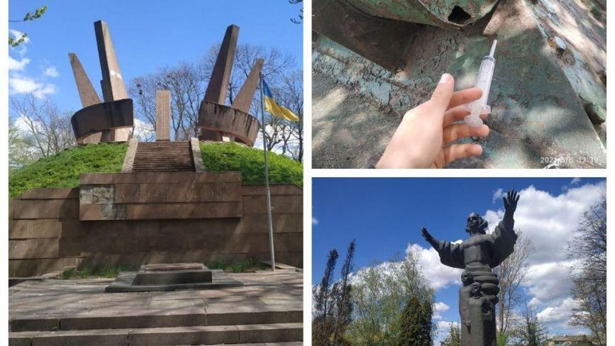 Отак шануємо минуле? Як виглядають пам'ятники та могили воїнів-визволителів Другої світової