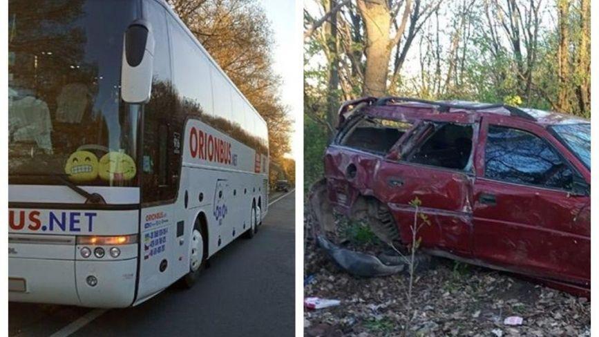 У Кам'янках зіткнулися автівка і автобус: троє дітей травмовані (ОНОВЛЕНЕ)