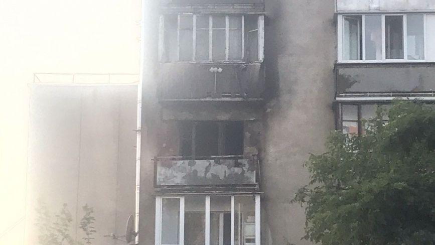 На Протасевича пожежа в квартирі.  Що горіло?