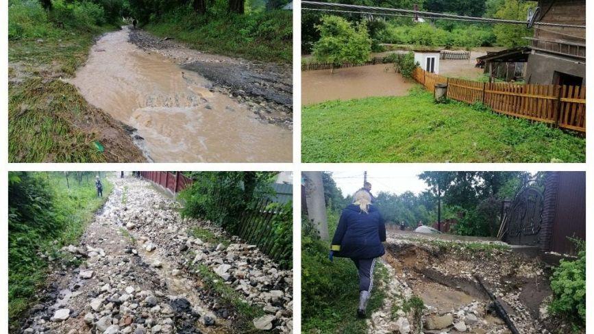 Зруйновані дороги, підтоплені вулиці та городи: негода наробила біди на Тернопільщині (ФОТО)