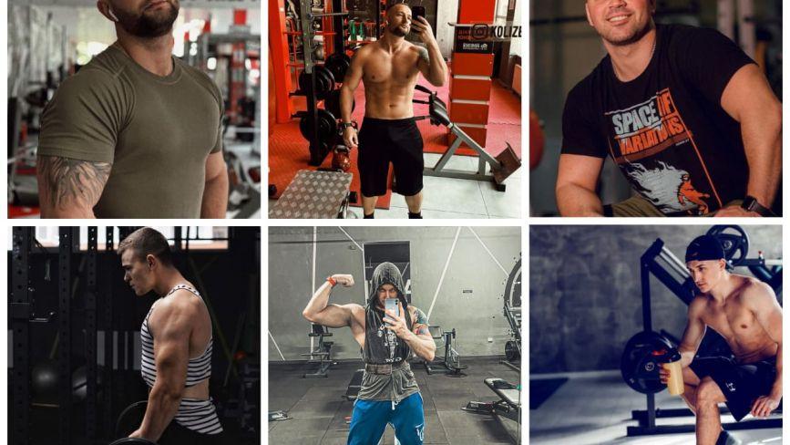 ТОП-10 фото з Instagram тернопільських чоловіків зі спортзалів та фітнес-клубів