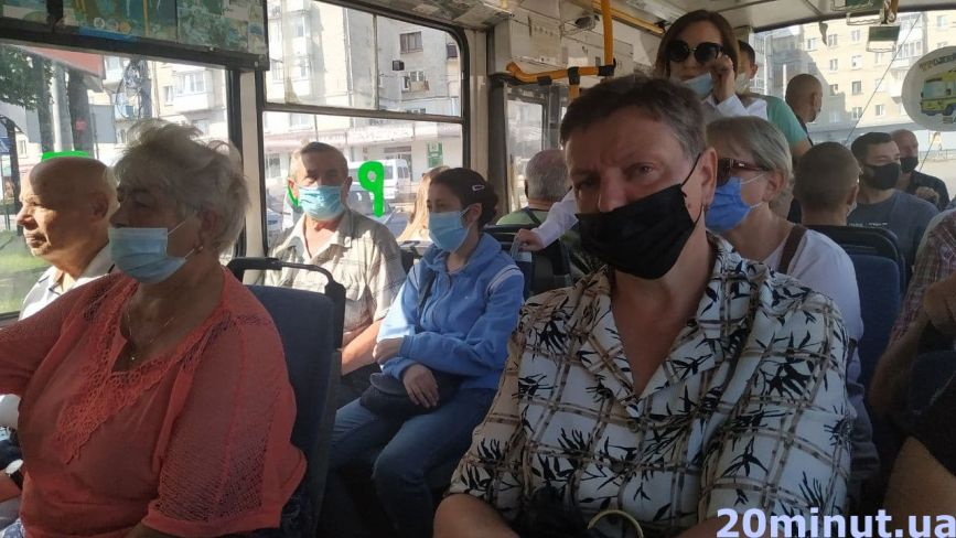 Про карантин забули? Чи носять тернополяни маски в людних місцях – репортаж «20 хвилин»