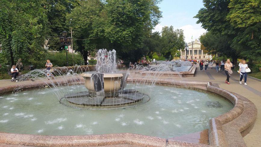 На День міста у Тернополі працюватимуть усі водограї