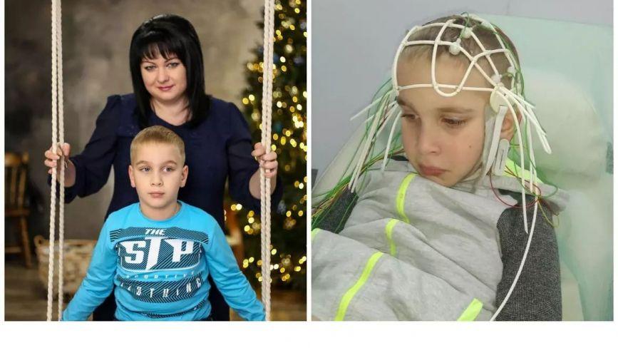 Мріємо, що син одужає: 6-річному Давиду необхідна повторна операція. Допоможіть дитині