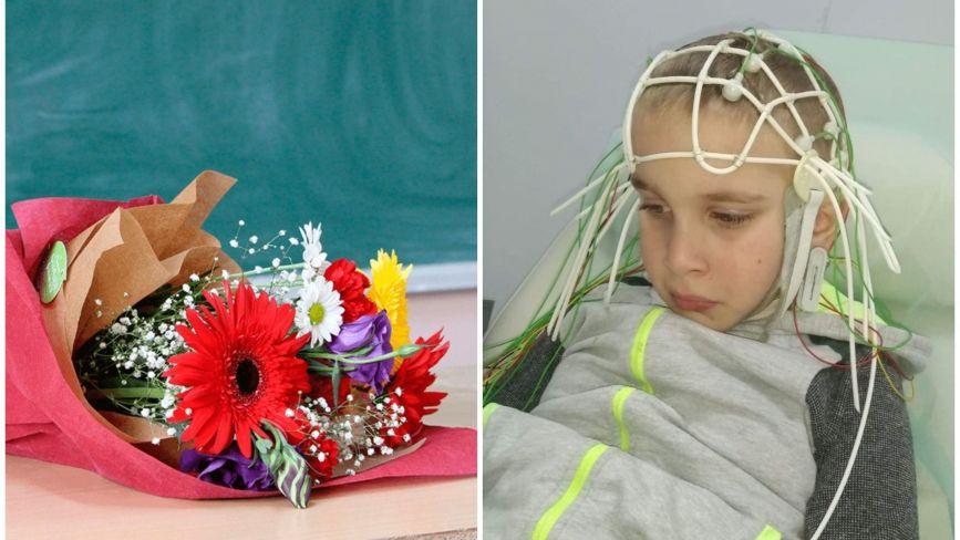 Благодійність замість квітів вчителю: у школі на Тернопільщині вирішили креативно допомогти Давидку Ревнюку