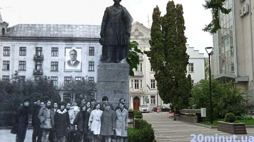 Тут було КДБ, Пушкін та «Володя Ульянов»: як змінилась вулиця Чорновола. Ми відтворили старі фото