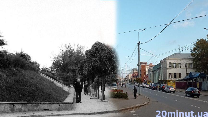 Порівнюйте, як виглядав проспект Бандери раніше і нині. Ми відтворили ретро фото