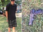 На дитячому майданчику затримали тернополянина з пістолетом