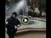 Як у Тернополі готуються до приїзду Гройсмана та Кличка: листя замітають, фонтани включили