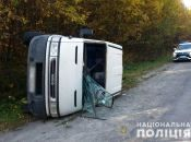 ДТП на Тернопільщині: автівка перекинута, водій втік у ліс