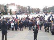 У Тернополі люди втретє зібралися на транспортне віче (оновлюється)