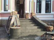 Фото дня: завершується ремонт обласної бібліотеки
