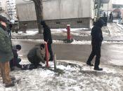 На Київській демонтували шлагбаум