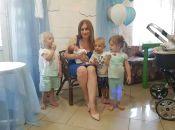 «Перших діток випросили у Бога, інших він подарував: за три роки  народила четверо дітей