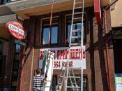 На вул. В. Чорновола демонтували незаконно встановлені вивіски