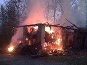 Пожежу на Тернопільщині гасили рятувальники з двох сіл