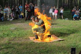 Тернополянин виконує каскадерські трюки у відомих бойовиках