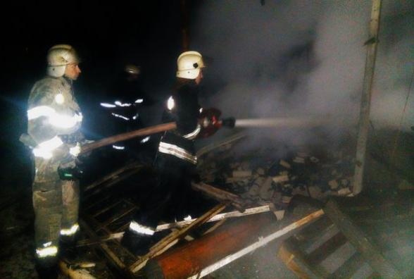 Цієї ночі трапилася пожежа на одному з франківських підприємств