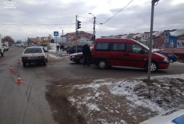 На Будного зіткнулось три авто