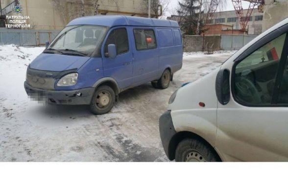 На Текстильній не розминулись Opel та ГАЗ