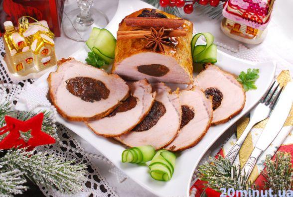 Готуємо свинину з чорносливом