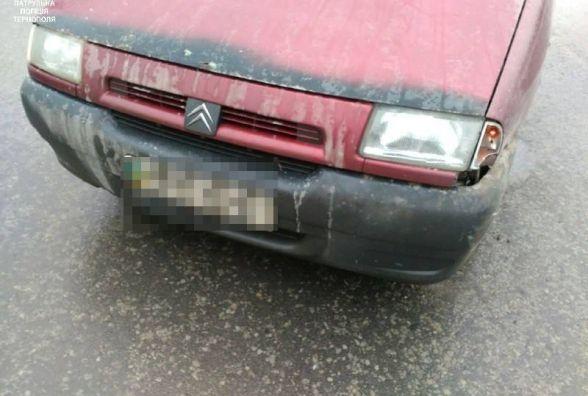 На Микулинецькій зіткнулись Citroen та Renault