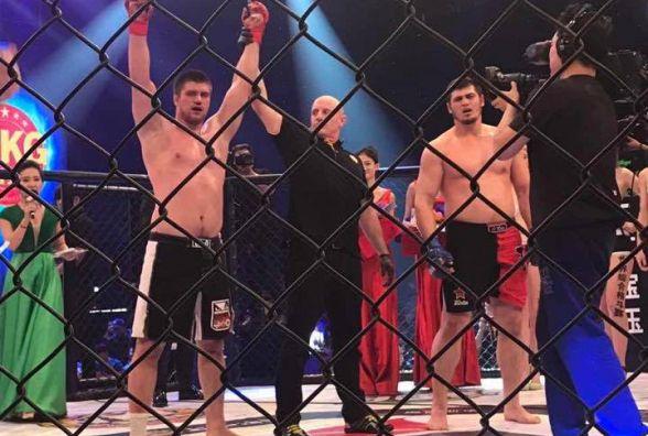 Фрі-файтер важковаговик Ігор Слюсарчук здобув перемогу у Китаї