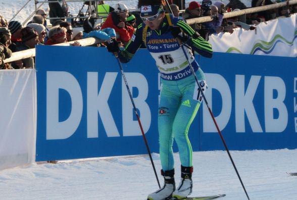 Дві тернополянки розпочинають гонки на п'ятому етапі Кубка світу з біатлону