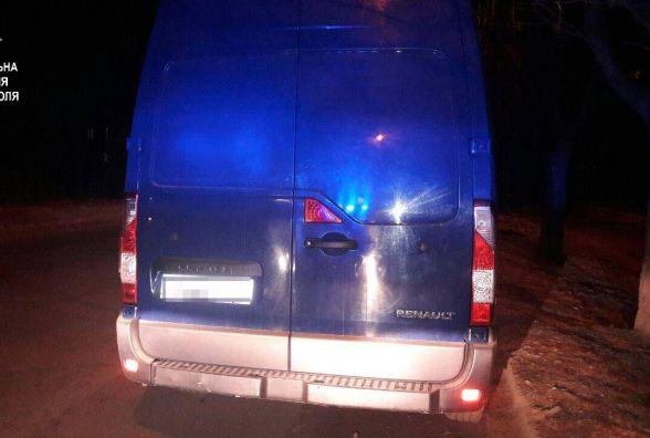 Водій «під кайфом» виробляв викрутаси на вулиці Лесі Українки