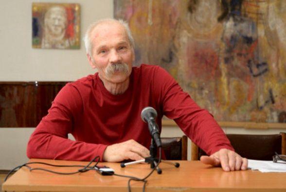 На Святвечір у своїй майстерні помер живописець Дмитро Стецько