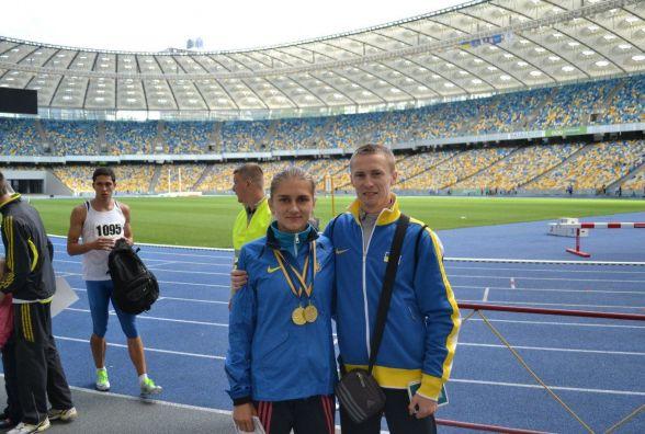 Тернопільські легкоатлети тріумфували у столиці
