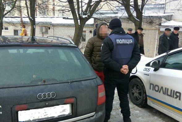 Тернополянин керував Audi A6 під кайфом