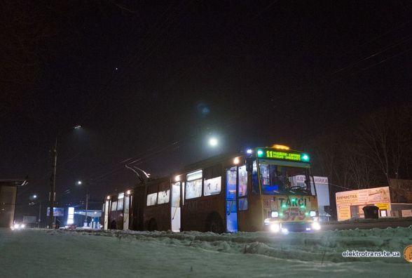 На БАМі відкрили нову тролейбусну зупинку