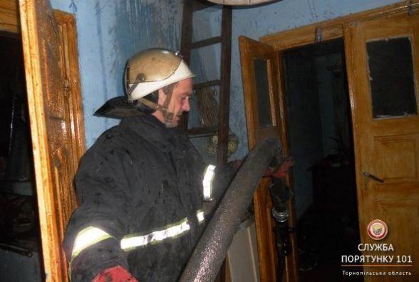 На Тернопільщині за добу горіли три будинки