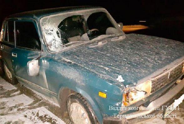"""Поблизу Тернополя водій """"ВАЗу"""" на смерть збив перехожого"""