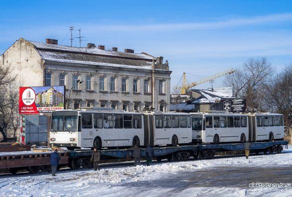 """Незабаром Тернополем курсуватимуть дві """"нові гармошки"""""""