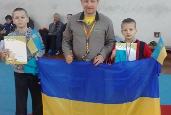 Два борці з Тернополя стали призерами міжнародного турніру у Братиславі