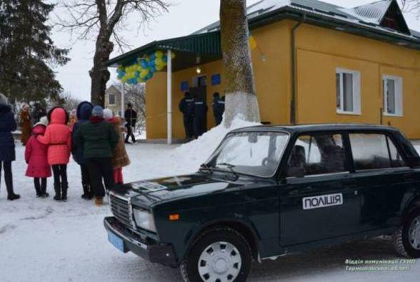 У Товстолузі почала діяти поліцейська станція