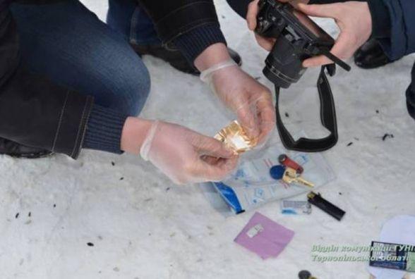 Продавця амфетаміну у Тернополі затримали з товаром